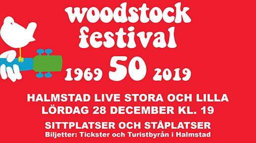 Bild för Halmstad Woodstock Festival, 2019-12-28, Halmstad Live