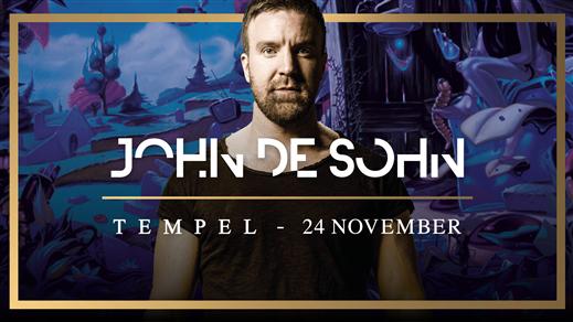 Bild för John De Sohn 24/11, 2018-11-24, Tempel Nattklubb