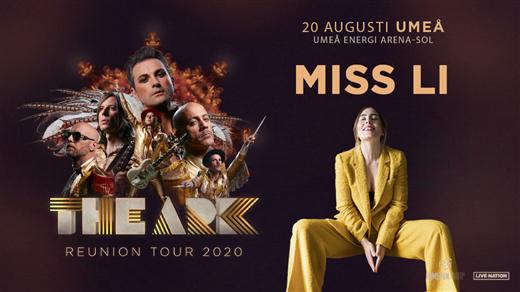 Bild för The Ark + Miss Li, 2020-08-20, Umeå Energi Arena Sol