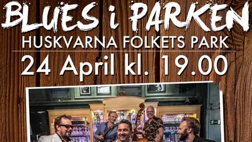 Bild för BLUES I PARKEN, 2019-04-24, Huskvarna Folkets Park