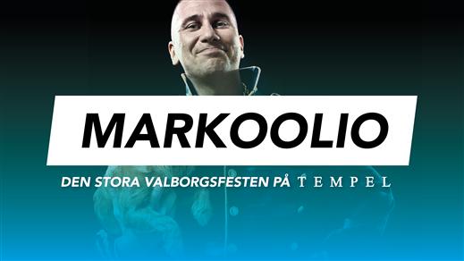 Bild för Markoolio - Valborgsfesten 30/4, 2019-04-30, Tempel Nattklubb