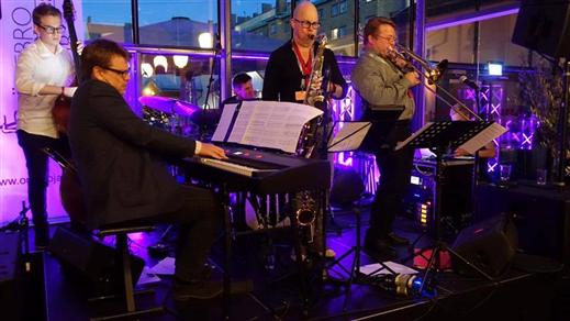 Bild för Nelson-Westin Jazz Machine, lördag 3 december, 2016-12-03, Närke kulturbryggeri
