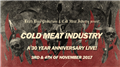 Cold Meat Industry - 30 Years Anniversary live!