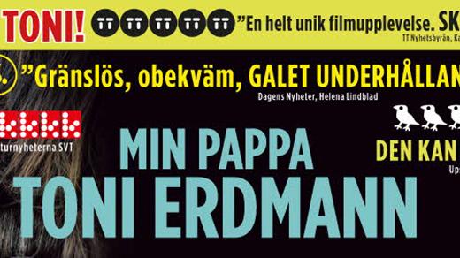 Bild för Bio Kontrast : Min pappa Toni Erdmann(15år,162min), 2016-12-01, Metropolbiografen