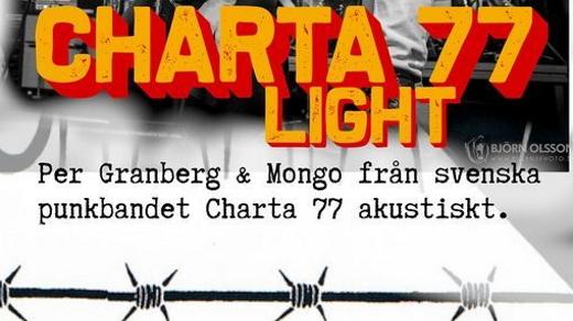 Bild för Charta77 light, 2021-09-24, Bomber Bar Motala