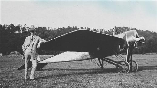 Bild för Flygpionjär Enoch Thulin, 2019-05-16, Flygvapenmuseum