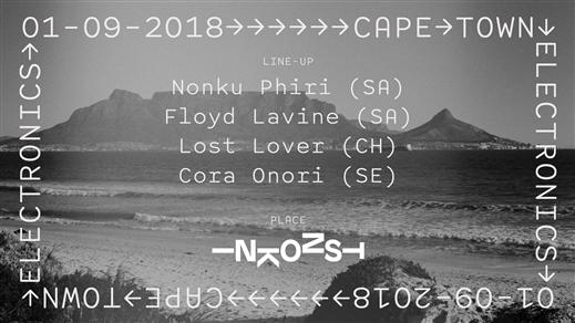 Bild för Cape Town Electronics [ Nonku Phiri / Floyd Lavine, 2018-09-01, Inkonst