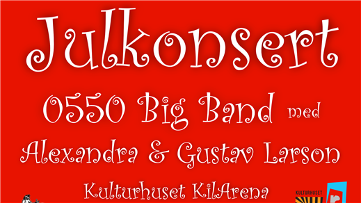 Bild för Julkonsert 0550 Big Band Alex & Gustav Larson, 2016-12-03, Kulturhuset KilArena