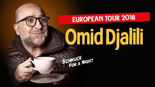 """Bild för Omid Djalili – """"Schmuck for a Night"""", 2018-05-02, Södra Teaterns Stora Scen"""