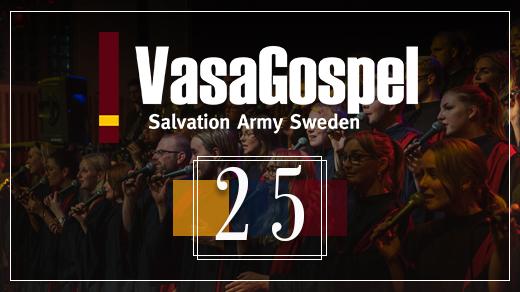 Bild för VasaGospel 25 år, 2019-05-11, Citykyrkan