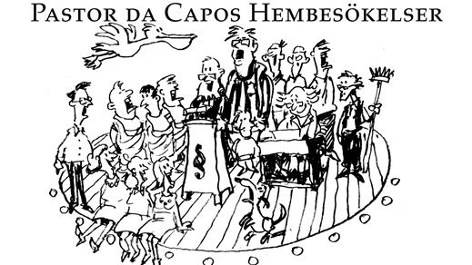 Bild för Pastor Da Capos hembesökelser - en salig blandning, 2020-04-04, Kulturum | Stora scenen