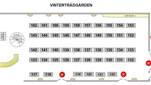 Bild för Loppis Stora Vårloppan 2019 Vinterträdgården, 2019-05-26, Vinterträdgården