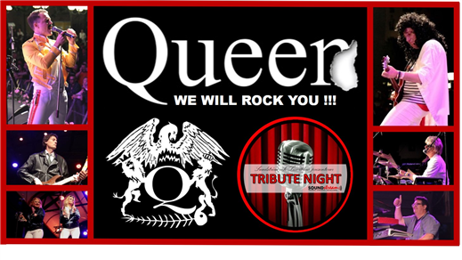 Bild för QUEER Queen Tribute (Tribute Night), 2019-04-06, The Rock Bar, Hotell Carlia