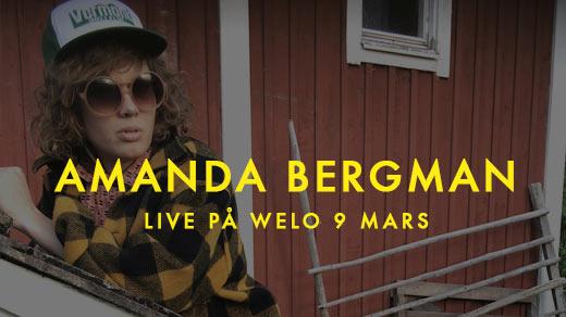 Bild för Amanda Bergman - LIVE!, 2017-03-09, WELO