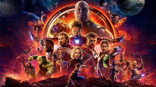 Bild för Avengers: Infinity War, 2018-04-29, Bio Oskar