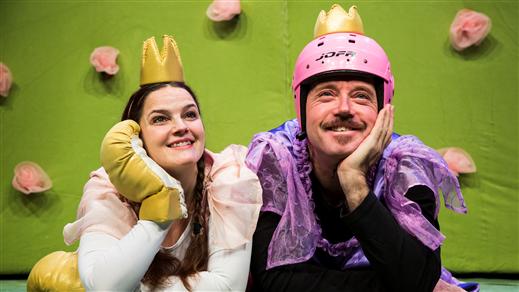 Bild för Så gör prinsessor (kl.13), 2017-03-18, Teaterkaféet, Hjalmar Bergmanteatern