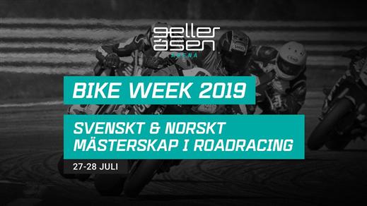 Bild för Bike Week, 2019-07-27, Gelleråsen Arena
