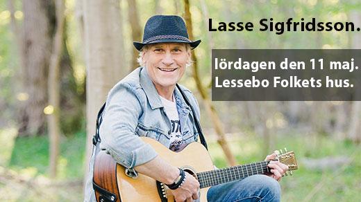 Bild för Lasse Sigfridsson - Lessebo Folkets hus, 2019-05-11, Lessebo Folkets hus