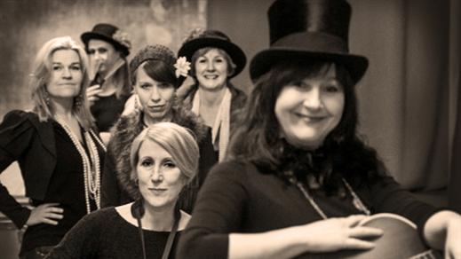 """Bild för Violet Green – """"A tribute to women pioneers ....."""", 2016-10-08, Hallsbergs Jazz- och Bluesklubb"""