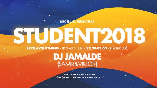 Bild för Student 2018 - Bj, 2018-06-05, Birgerjarl Nattklubb