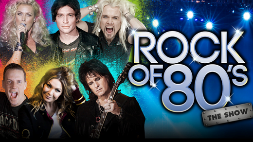 Bild för ROCK OF 80´S - THE SHOW 20/10, 2017-10-20, Apollon, Folkets Hus Kulturhuset