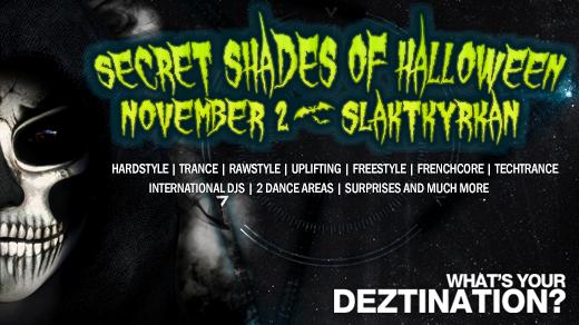 Bild för Deztination: Secret Shades of Halloween, 2018-11-02, Slaktkyrkan