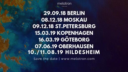 Bild för Melotron, Knights & Romo Night, 2019-03-16, Musikens Hus Stora Scen
