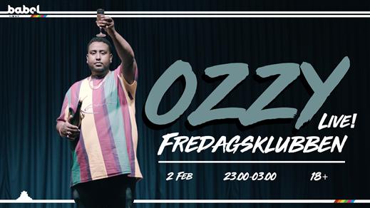 Bild för Fredagskubben - Ozzy (SE) LIVE, 2018-02-23, Babel