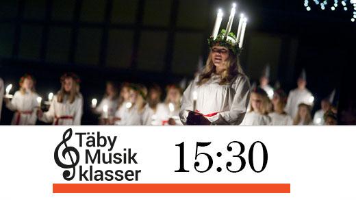 Bild för Luciakväll med Täby Musikklasser kl.15:30, 2018-12-09, Täby Sportcentrum