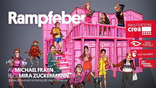 Bild för Rampfeber Riksteatern, 2021-10-23, Folkets Hus, Avenyteatern