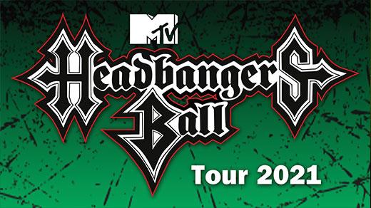 Bild för MTV Headbangers Ball Tour 2021, 2021-12-06, Trädgår'n