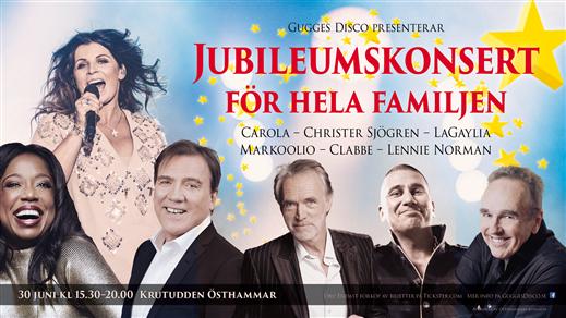 Bild för Jubileumskonsert, 2018-06-30, Krutudden Östhammar