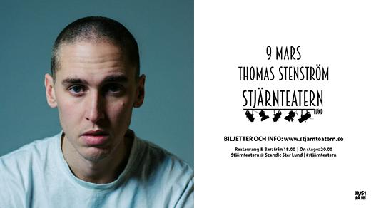 Bild för Thomas Stenström, 2018-03-09, Stjärnteatern