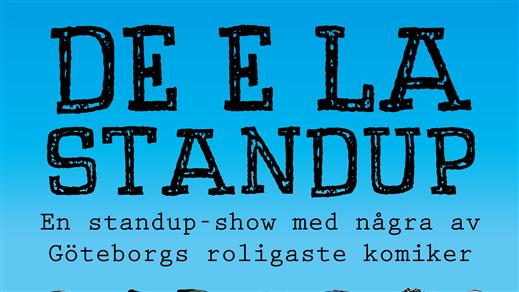 Bild för De e la standup - Malmö, 2018-08-02, Sir Toby´s