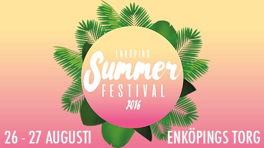 Bild för Enköping Summer Festival, 2016-08-26, Enköpings Torg