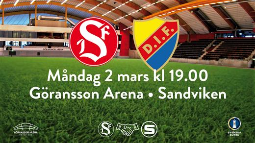 Bild för Sandvikens IF vs Djurgårdens IF, 2020-03-02, Göransson Arena Sport #2