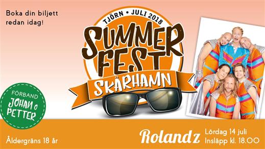 Bild för Summerfest Skärhamn 2018, 2018-07-13, Södra Hamnen Skärhamn