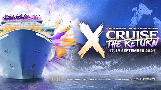 Bild för X-CRUISE - THE RETURN - 24-26 SEPTEMBER, 2021-09-24, Värtahamnen