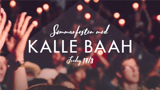 Bild för Kalle Baah live 17 Augusti Hugo Nattklubb, 2018-08-17, Hugo Nattklubb