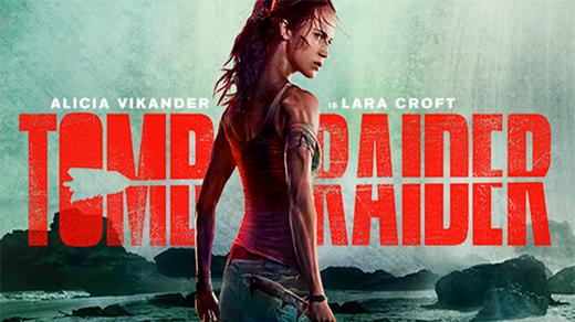 Bild för Tomb Raider Premiär, 2018-03-16, Biosalongen Folkets Hus