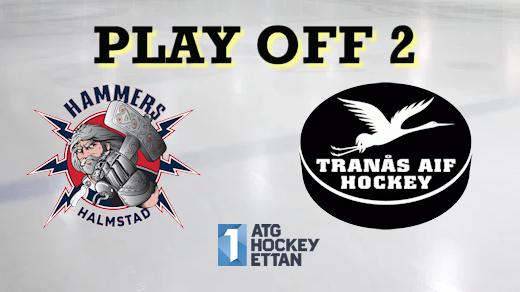 Bild för Hammers - Tranås AIF, Play Off 2, Match 3, 2020-03-07, Halmstad Arena