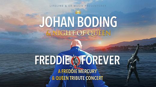 Bild för Johan Boding & Night of Queen – Freddie Forever, 2018-12-09, UKK - Stora salen