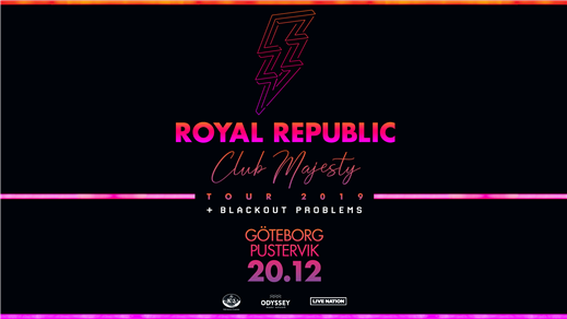 Bild för Royal Republic, 2019-12-20, Pustervik