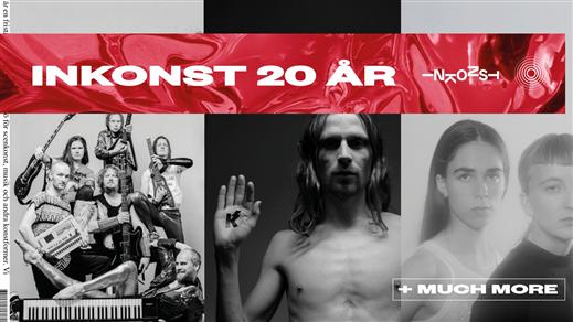 Bild för Inkonst presenterar: 20-årsfesten, 2018-09-15, Inkonst