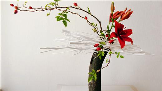 Bild för Ikebana online: Sabishii, 2021-11-13, Östasiastiska museet