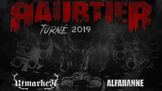 Bild för Raubtier + Alfahanne + Utmarken, 2019-10-11, Frimis Salonger Örebro