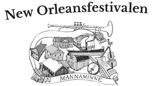 Bild för New Orleansfestivalen, 2017-07-28, Mannaminne