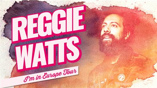 Bild för Reggie Watts, 2018-06-26, Södra Teaterns Stora Scen