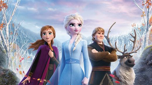 Bild för Bio: Frozen 2 (eng. tal), 2019-12-29, Kulturhuset Finspång, Stora Salongen