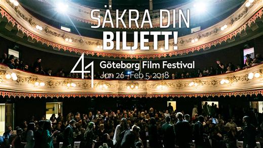 Bild för INVIGNING GBG:S FILMFESTIVAL NR 41 26/1, 2018-01-26, Hebeteatern, Folkets Hus Kulturhuset